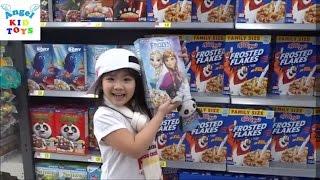 Bé Katie đi siêu thị Walmart Kids Toys