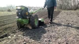 Фрезеровка почвы мотоблоком Добриня Т81(9л.с.)