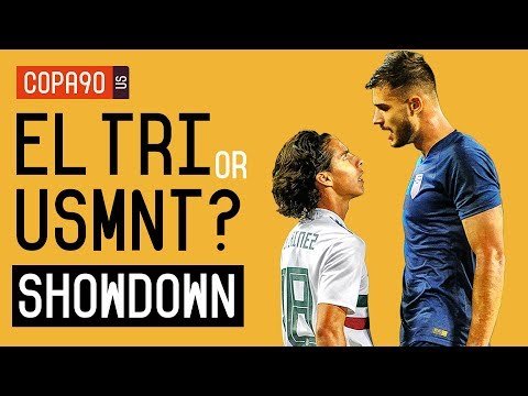 Mexico or US Soccer: Who Has the Brighter Future? - The Showdown | Ep. 1