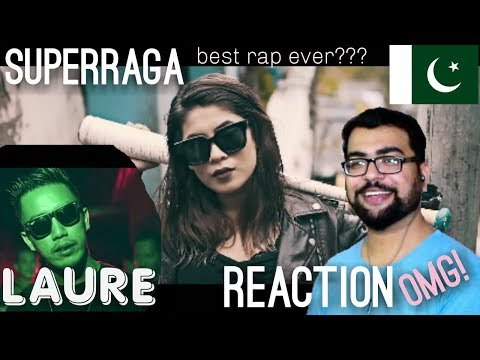 LAURE - SUPERRAGA [OFFICIAL VIDEO 2017] CHUP LAAG || PAKISTANI REACTION ||