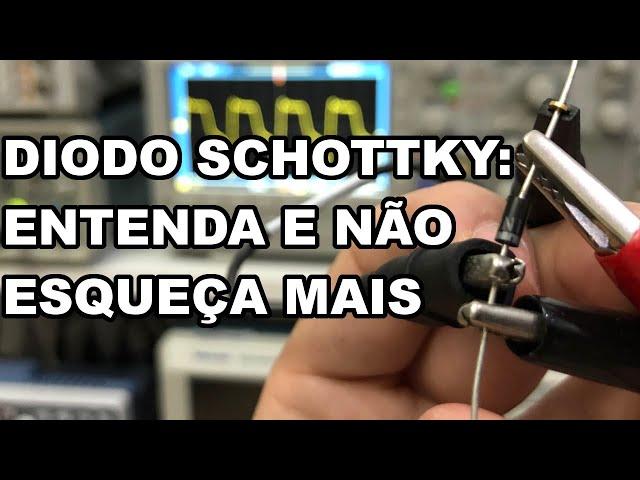O DIODO SCHOTTKY SEM MISTÉRIO! ENTENDA