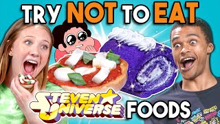 Try Not To Eat Challenge - Steven Universe Food | People Vs. Food