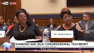 House Judiciary Committee Hearings on Social Media Filtering | Diamond and Silk Testimony