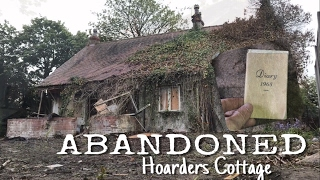 ABANDONED Hoarders Cottage Items from the 1940's   U.K Urbex 2017