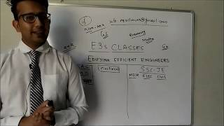 An introduction of E3s classes   RRB-ALP    SSC-JE  GS  COMPETITIVE EXAM  