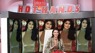 Kendall Jenner Plays 'Hot Hands: Kardashian Jenner Edition'