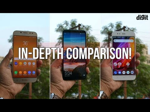 Xiaomi Mi A1 Vs Honor 9i Vs Samsung Galaxy J7 Pro In Depth Comparison  Digitin