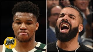 Drake cares about me, but I don't care about him - Giannis Antetokounmpo | The Jump