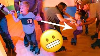 LEARNING TO ROLLER SKATE!