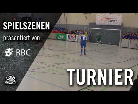 RB Leipzig - FC Hansa Rostock (13. Range Bau Cup, U17 B-Junioren, Halbfinale) - Spielszenen | SPREEKICK.TV