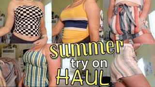 SUMMER CLOTHING TRY-ON HAUL