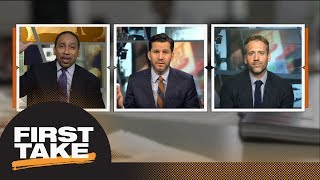 Stephen A. and Will roast Max for Tom Brady not falling 'off the cliff' | First Take | ESPN