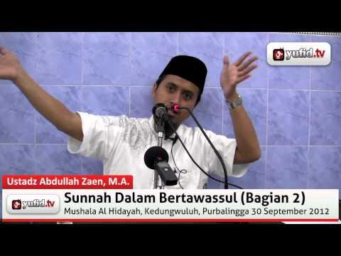 Sunnah Dalam Tawassul (bagian 2)