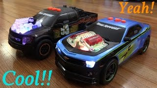 Toy Cars: Road Rippers' Chevy Camaro SS and Ford F-150 Lightning Rods Unboxing & Playtime