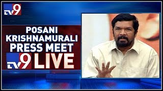 Posani Krishna Murali Press Meet-Live..