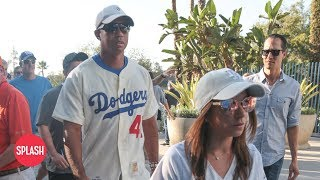 Tiger Woods Brings New Girlfriend to World Series Game   Daily Celebrity News   Splash TV