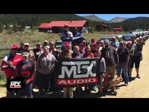 MTX Audio at RZRForums.net Ride - Taylor Park, CO 2016