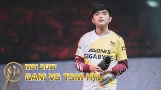 MSI 2017 Highlight: Gigabyte Marines vs Team SoloMid - Group Stage Day 1