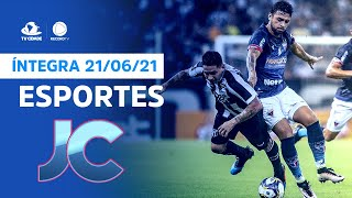 Esportes no Jornal da Cidade   Segunda, 21/06/2021