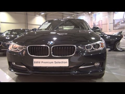 BMW 320d Sedan (2015) Exterior and Interior in 3D