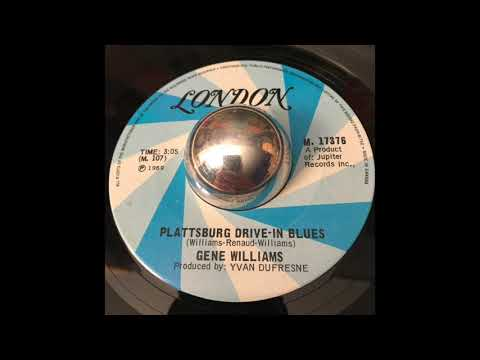 "Gene Williams - ""Plattsburgh Drive-In Blues"""