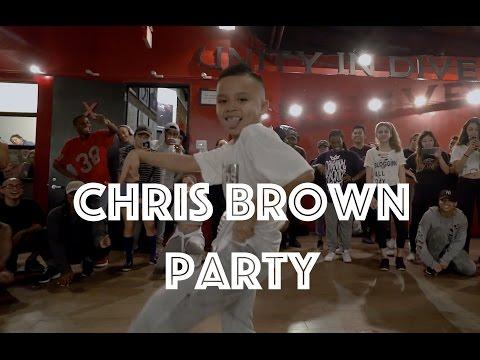 Chris Brown - Party | Hamilton Evans Choreography