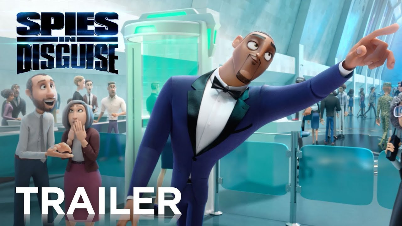 Trailer de Spies in Disguise