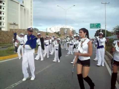 Banda Show Integración Juvenil Parada de Bandas Margarita 2012