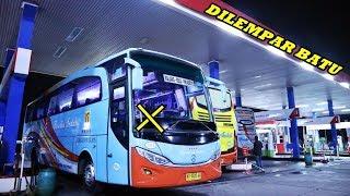 ABIS NYALIP, KACA DILEMPAR BATU | Trip Menegangkan Yogyakarta-Blitar Rosalia Indah