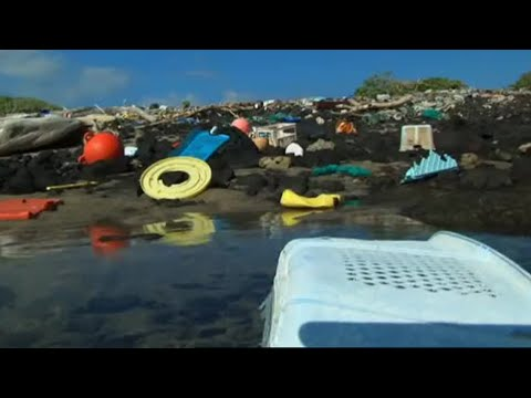 One of the Dirtiest Beaches in the World   Hawaii   Message in the Waves   BBC