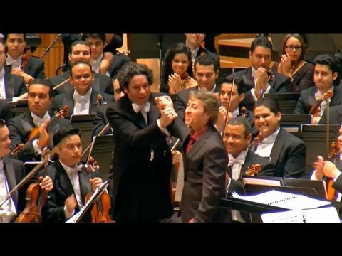 DUDAMEL & Simón Bolívar Orchestra - Live HD - Royal Festival Hall - BENZECRY: Rituales Amerindios /