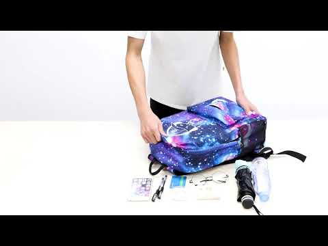 video Anime Backpack for School