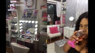 SMALLER Beauty (Bed/Makeup/WomanCave/DIY) Room Tour Preview 2018