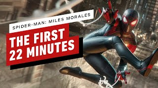 The First 22 Minutes of Spider-Man: Miles Morales on PS5 (4K)