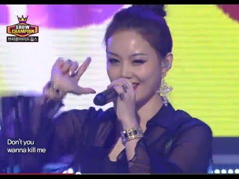 Brown Eyed Girls - Kill Bill, 브라운 아이드 걸스 - 킬 빌, Show Champion 20130821