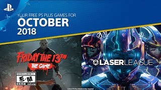 PlayStation Plus free games for October 2018 announced