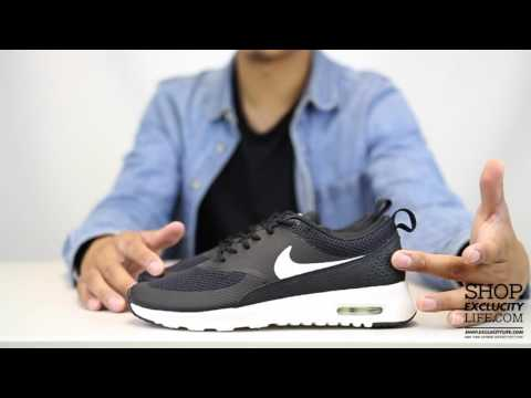 Women's Air Max Thea Black   White Unboxing Video at Exclucity
