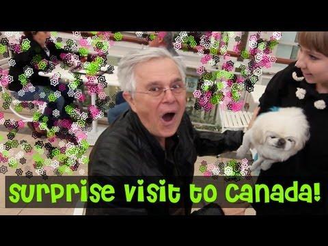 Surprise Visit to Toronto!