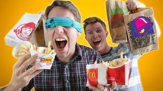 Fast Food French Fry Taste Test CHALLENGE!