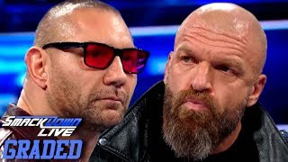 WWE SmackDown Live 1000: GRADED (16 October) | BATISTA Vs. TRIPLE H?!