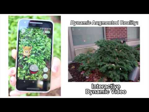 Pokemon GO and Interactive Dynamic Video