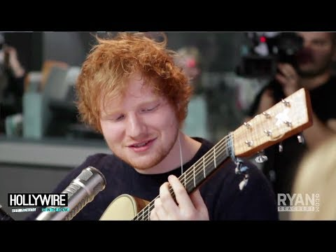 Ed Sheeran Covers Beyonce's 'Drunk In Love' (Acoustic Performance)