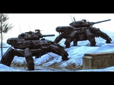 Russian Army Alien Tech Terminator Robots Cyborgs To Crush ... Real Alien Footage 2013