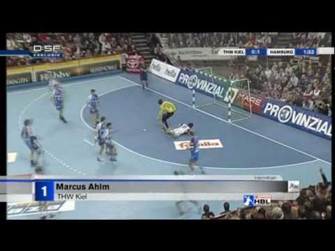 Top 5 Goals: Spieltag 15 der Handball Bundesliga Saison 2009/2010