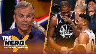 Colin Cowherd rips Pelicans' handling of AD, talks Westbrook-Durant split in OKC | NBA | THE HERD