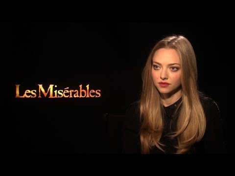 'Les Misérables' Amanda Seyfried Interview