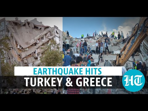 Building collapses as earthquake hits Turkey & Greece; 4 killed, 120 injured