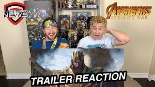 Marvel Studios' Avengers: Infinity War - Official Trailer Reaction