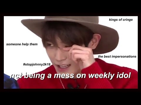 nct being a mess on weekly idol