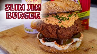 Slim Jim Burger